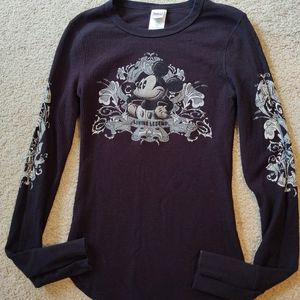 DISNEY THERMAL MICKEY MOUSE TOP SIZE M (10-12)